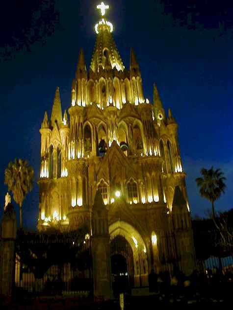 Noche de San Miguel de Allende